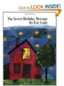 secret birthday message